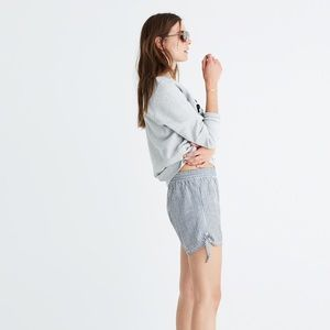 Madewell side-tie shorts, XS
